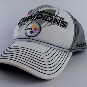 Pittsburgh Steelers 2010 Conference Champions Cap